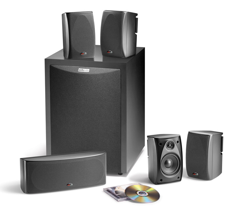 Review of Polk Audio RM6750 5.1 Channel Home Theater Speaker ...