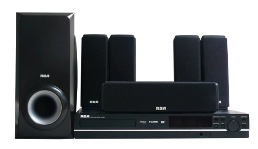 RCA-RTD317W, DVD Home Theater System with 1080p HDMI Upconvert DVD Player