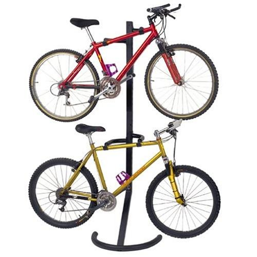 Racor Pro PLB-2R Two-Bike Gravity Freestanding Bike Stand - Reviews of Top 10 Garage and Home Organizers for Clutter Free Living