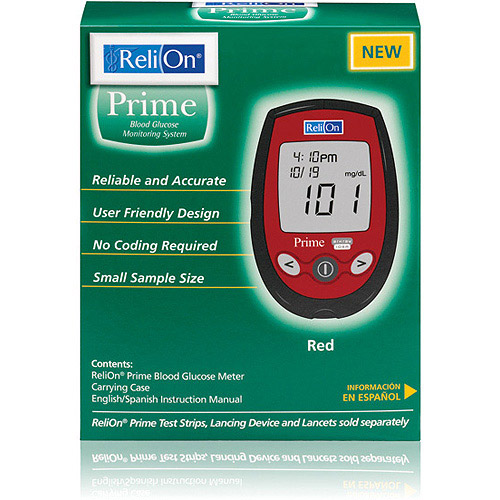 ReliOn Prime Blood Glucose Monitoring System - Reviews of Top 10 Blood Pressure Monitors