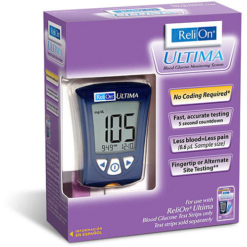 ReliOn Ultima Blood Glucose Monitor - Reviews of Top 10 Blood Pressure Monitors