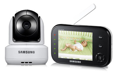 Samsung SafeVIEW SEW-3037W  Video Baby Monitor