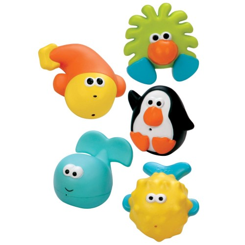 Review of Sassy Bathtime Pals Squirt and Float Toys