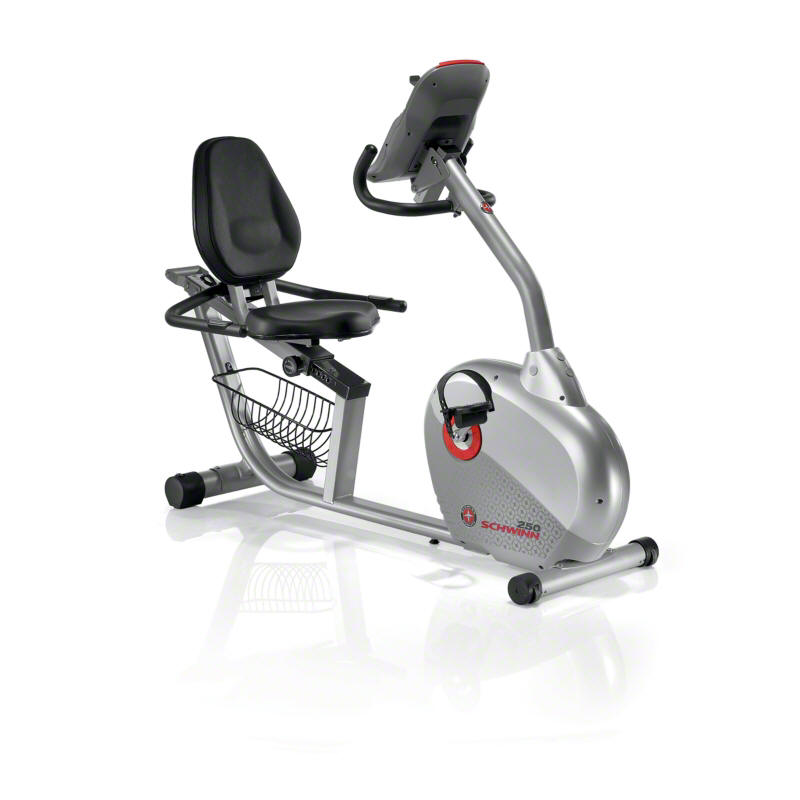 Schwinn 250 Recumbent Exercise Bike - Reviews of Top 10 Exercise Equipment - Get Fit and Healthy!
