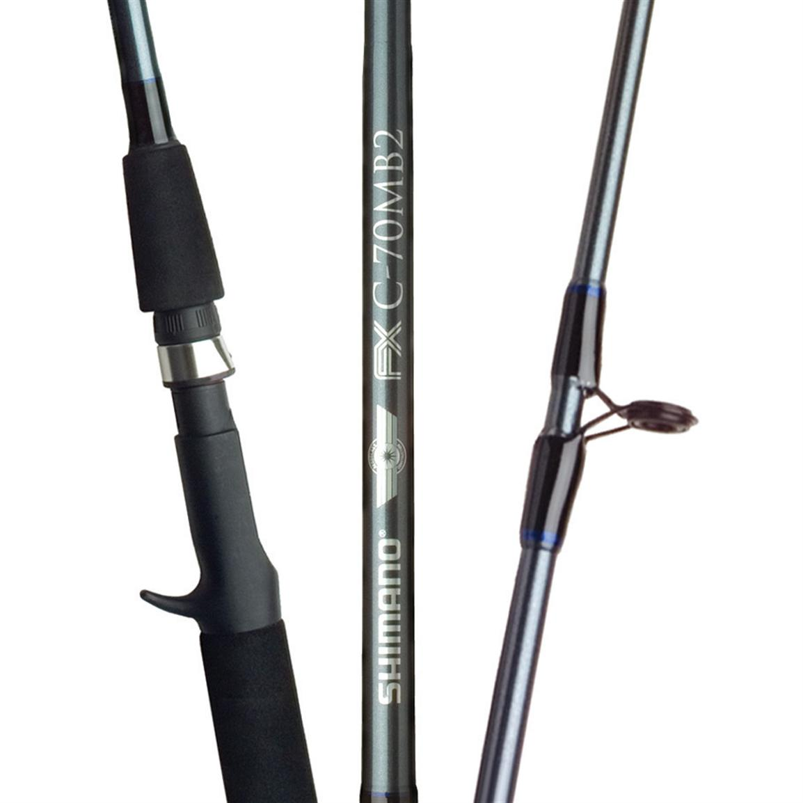 Shimano FXS 2 Piece Spinning Rod - Reviews of Top 10 Fishing Gears - Go Fishing!