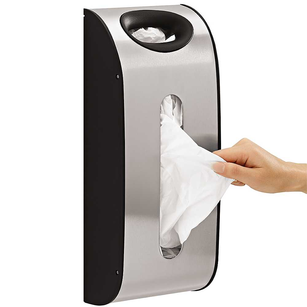 Review of simplehuman Wall Mount Grocery Bag Dispenser, Brus ...