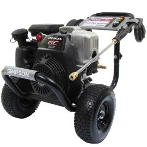 Review of Simpson Honda GC190 MegaShot 3100-PSI 2.5-GPM Gas Pressure Washer (Model: MSH3125-S)