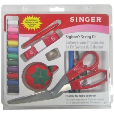 Singer 1512 Beginners Sewing Kit, 130 pieces - Reviews of Top 10 Sewing and Embroidery Machines and Supplies - Be Your Own Designer