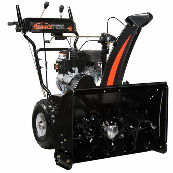 Review of Sno-Tek 24 in. Two-Stage Electric Start Gas Snow Blower (Model: 920402)