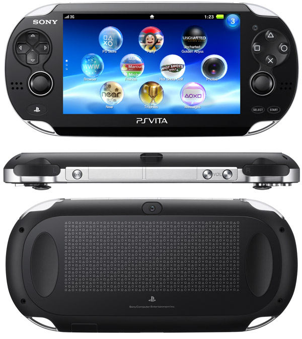 Sony PlayStation Vita (Wi-Fi) - Reviews of Top 10+ Video Game Consoles and Handheld Gaming Devices