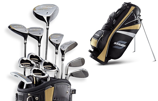 Review of Callaway Strata Men's Complete Golf Set with Bag, 13-Piece