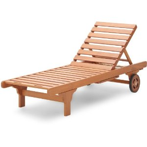 Review of Strathwood Basics Hardwood Chaise Lounge