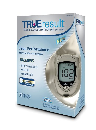 TRUEResult Blood Glucose Starter Kit - Reviews of Top 10 Blood Pressure Monitors