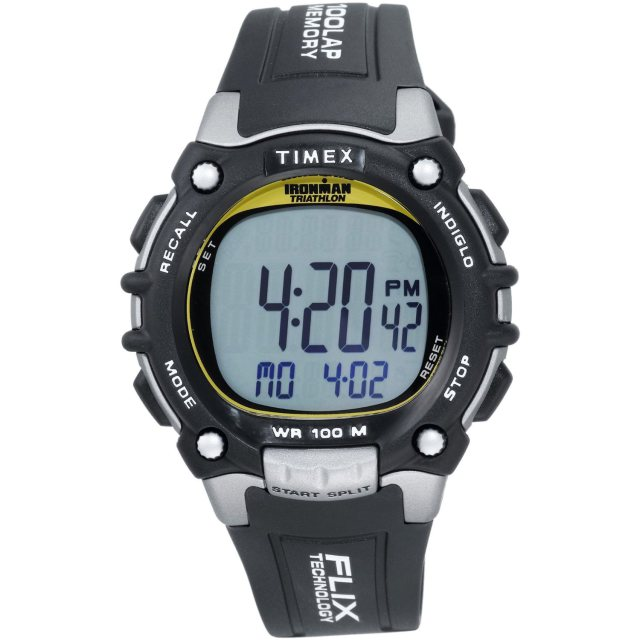 Timex Men's T5E231 Ironman Traditional 100-Lap Watch