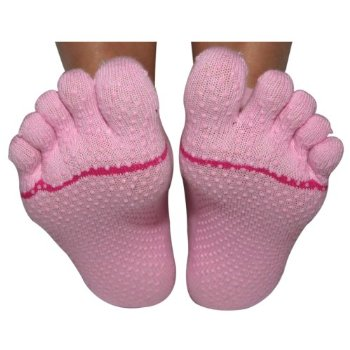 Review of - ToeSox Full Toe with Grip Yoga/Pilates Toe Socks