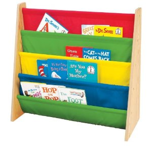 Tot Tutors Book Rack, Primary Colors - Reviews of Top 10 Kids' Bedroom Furniture and Decor Items