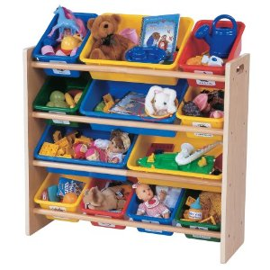 Review of Tot Tutors Toy Organizer