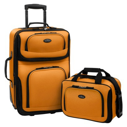 Review of US Traveler Rio Two Piece Expandable Carry-On Lugg ...