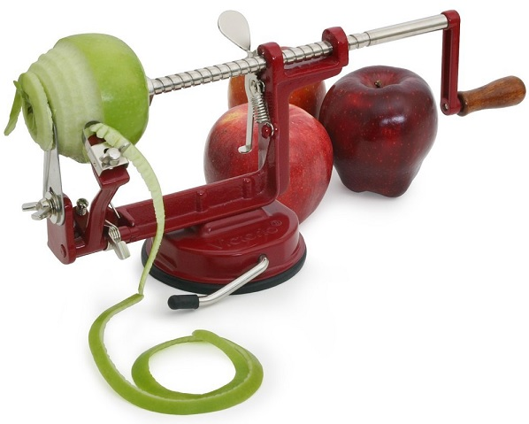 Review of Victorio VKP1010 Apple and Potato Peeler, Suction Base