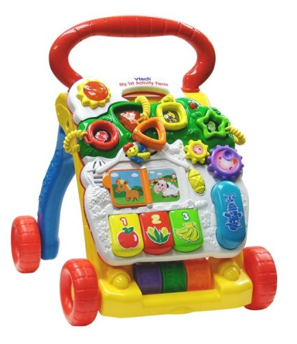 Vtech - Sit-to-Stand Learning Walker - Reviews of Top 10 Kids' Bedroom Furniture and Decor Items