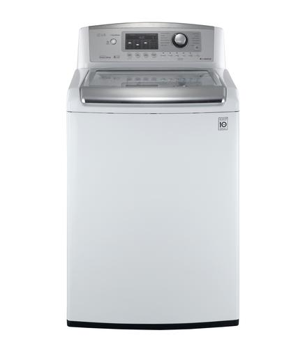 LG Electronics 4.7 cu.ft. High-Efficiency Top Load Washer in White, ENERGY STAR (Model: WT5070CW)