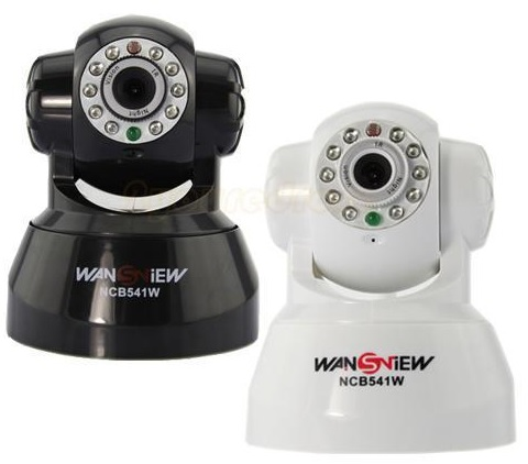 Review of - Wansview Wireless IP Pan/Tilt/ Night Vision Internet Surveillance Camera Built-in Microphone With Phone remote monitoring support