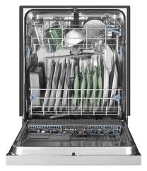 Review of Whirlpool Gold Front Control Dishwasher with Stain ...