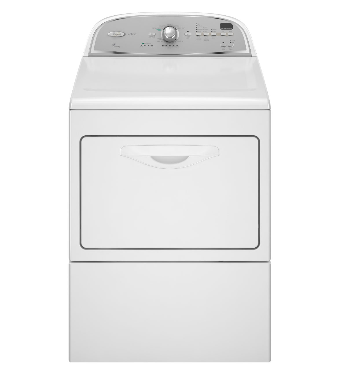 Review of Whirlpool Cabrio 7.4 cu. ft. Electric Dryer in Whi ...