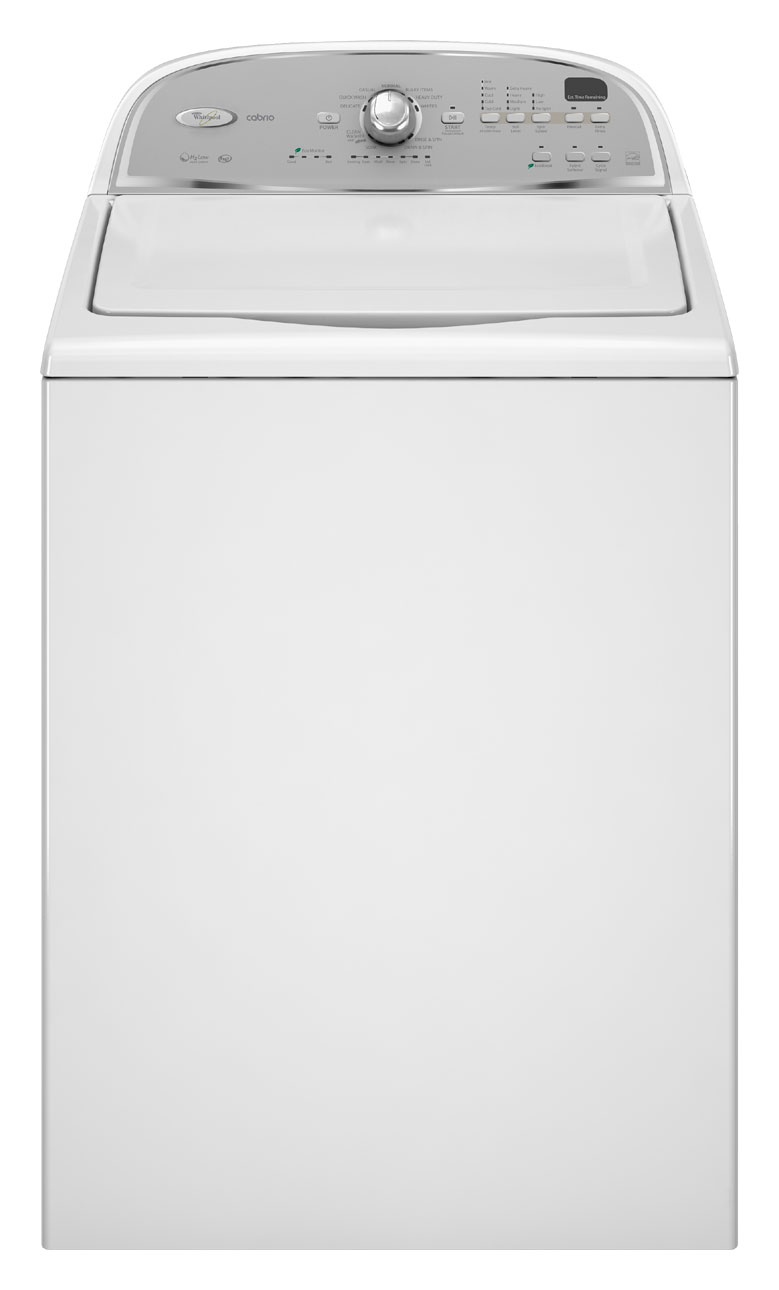 Whirlpool Cabrio 3.6 cu. ft. High-Efficiency Top Load Washer in White, Energy Star  (Model # WTW5600XW)