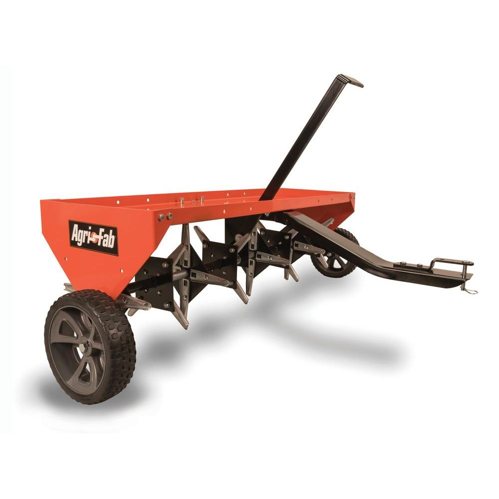 Review of Agri-Fab 48-in Plug Lawn Aerator