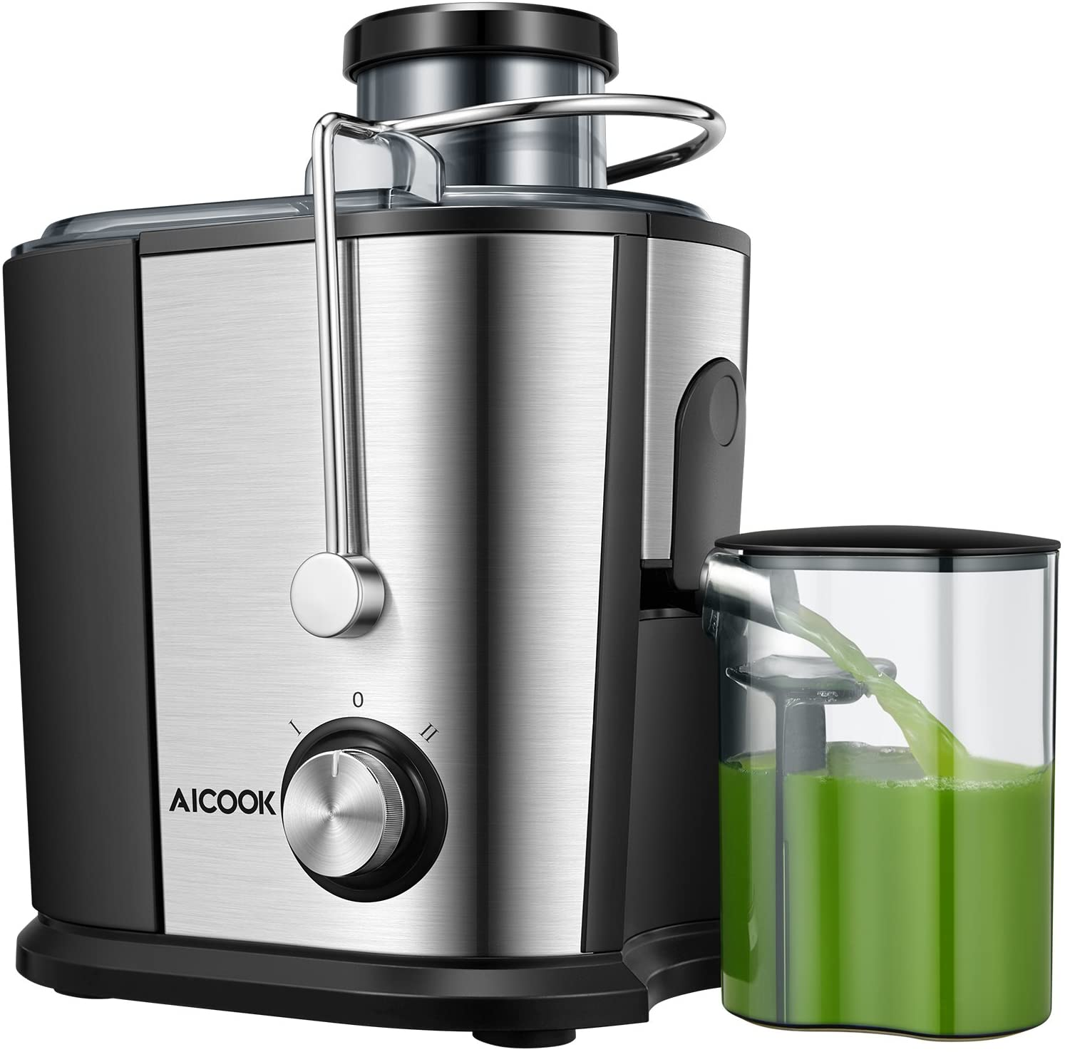 Review of AICOOK Wide Mouth Stainless Steel Juice Extractor