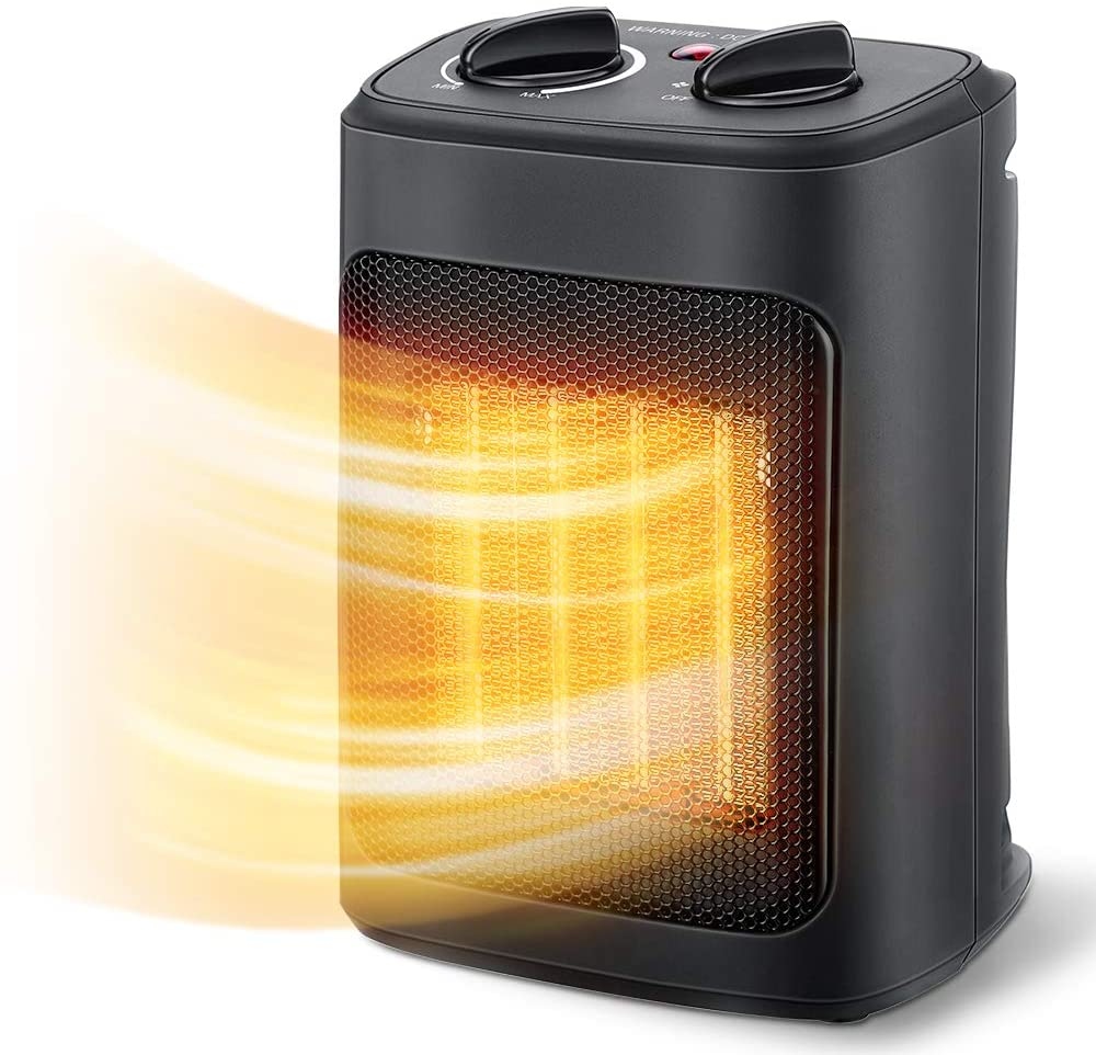 Review of Aikoper Indoor Portable Space Heater,  with Thermostat, 1500W