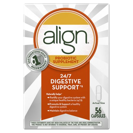 Review of Align Probiotics, Probiotic Supplement for Daily Digestive Health, 56 capsules