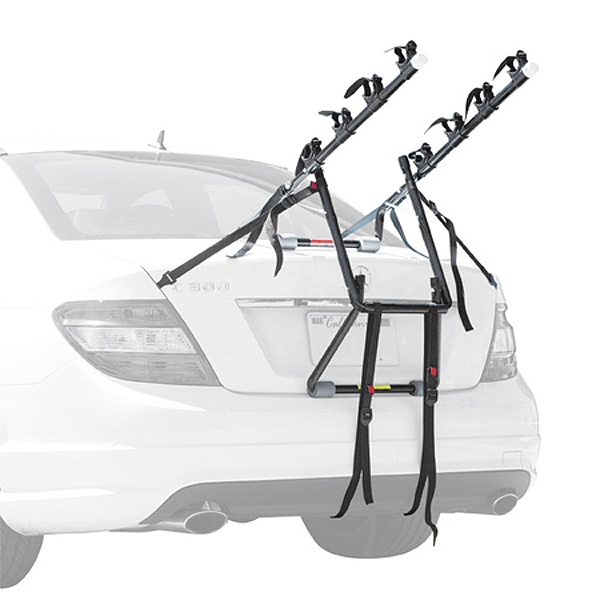 Review of Allen Deluxe Trunk Mount Rack -  2-Bike, 3-Bike an ...