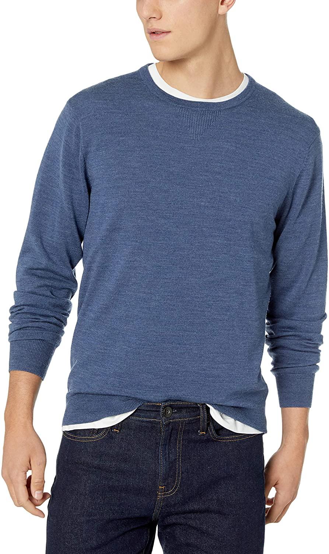 Review of Amazon Brand - Goodthreads Men's Lightweight Merino Wool Crewneck Sweater