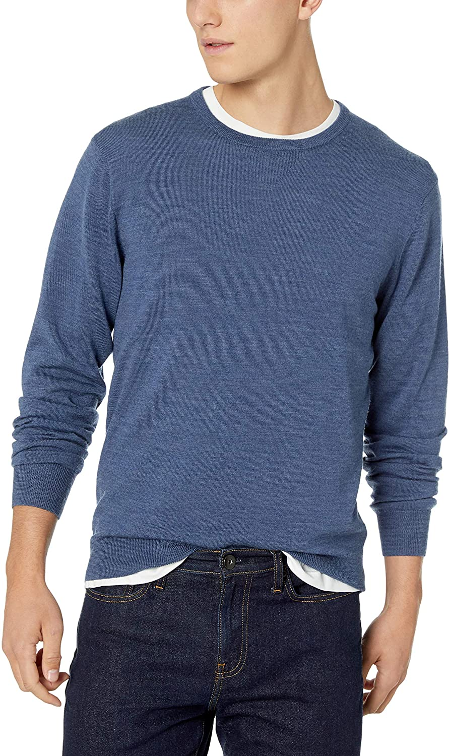 Review of Amazon Brand - Goodthreads Men's Lightweight Merino Wool Crewneck Sweater