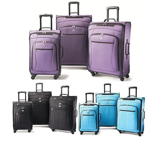 American Tourister Luggage AT Pop Three-Piece Spinner Set - Reviews of 10 Most Popular Luggage Sets and Bags - Travel in Style