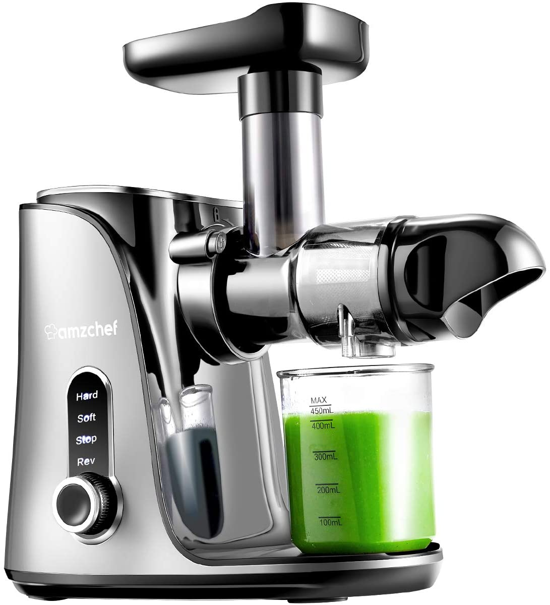 Review of AMZCHEF Slow Masticating Cold Press Juicer
