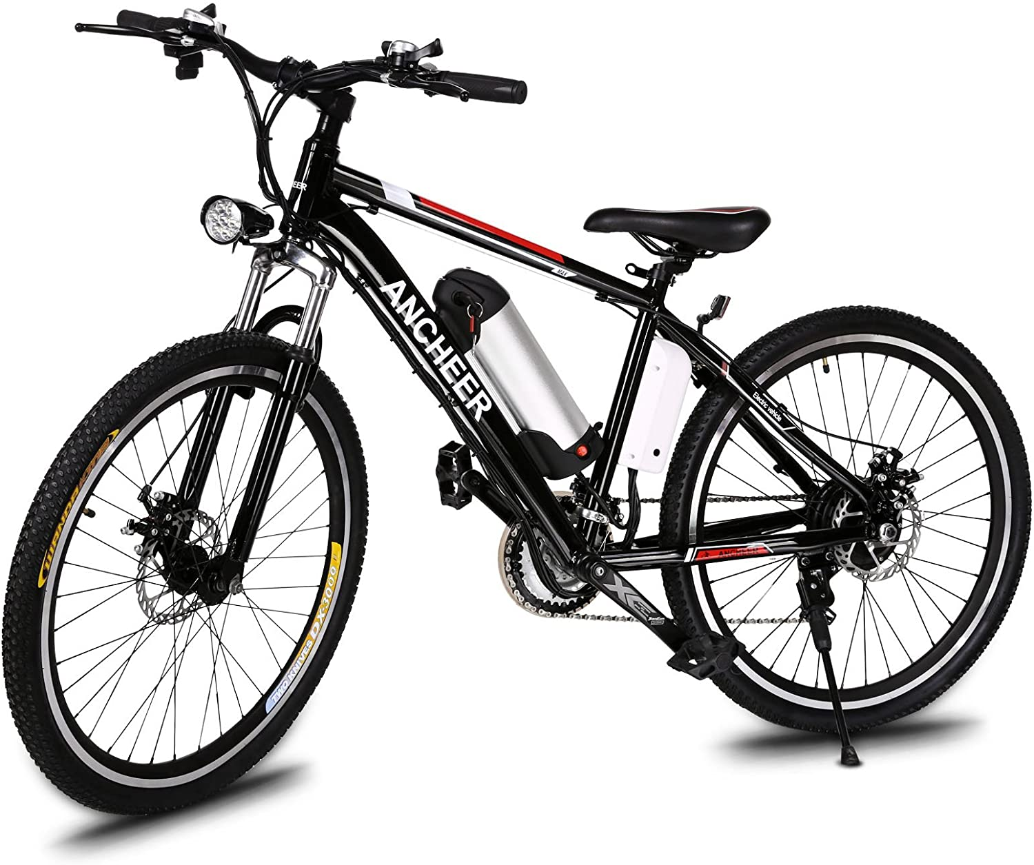 Review of ANCHEER 500W/250W Electric Bike Adult Electric Mountain Bike, 26