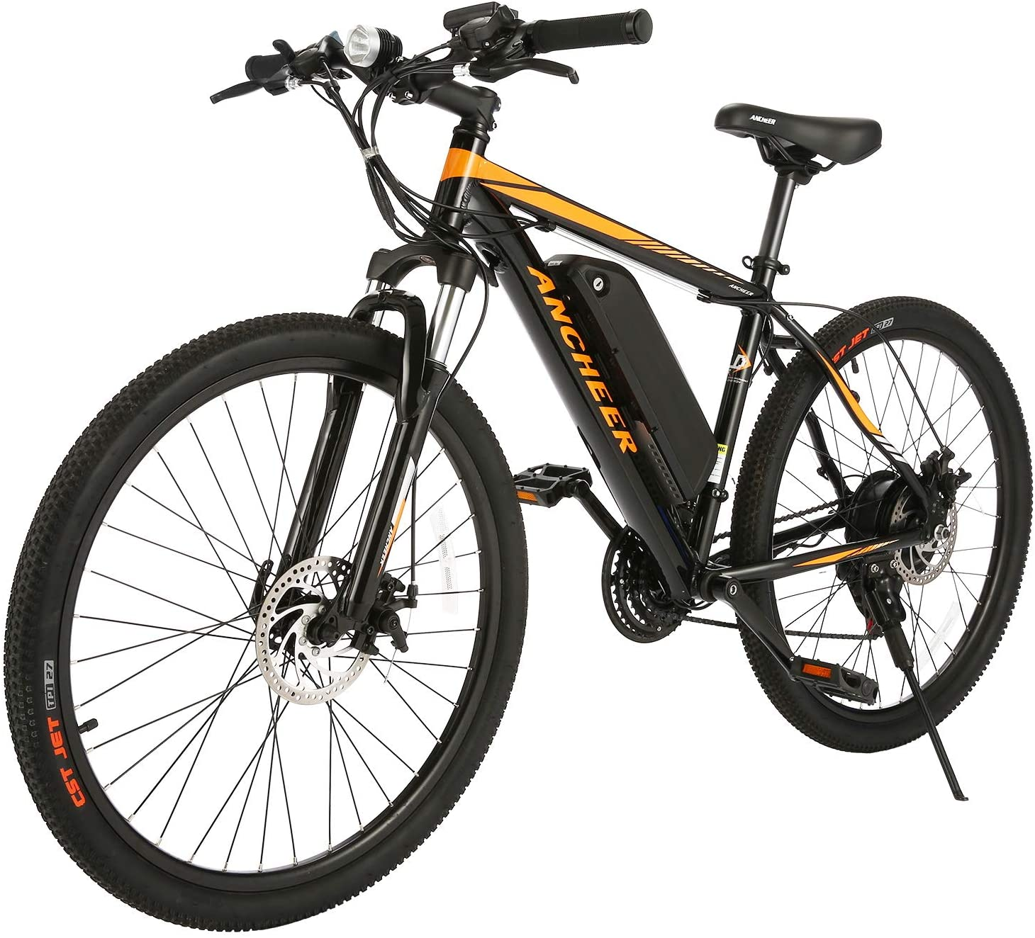 Review of ANCHEER Electric Mountain Bike 350W Ebike 26''