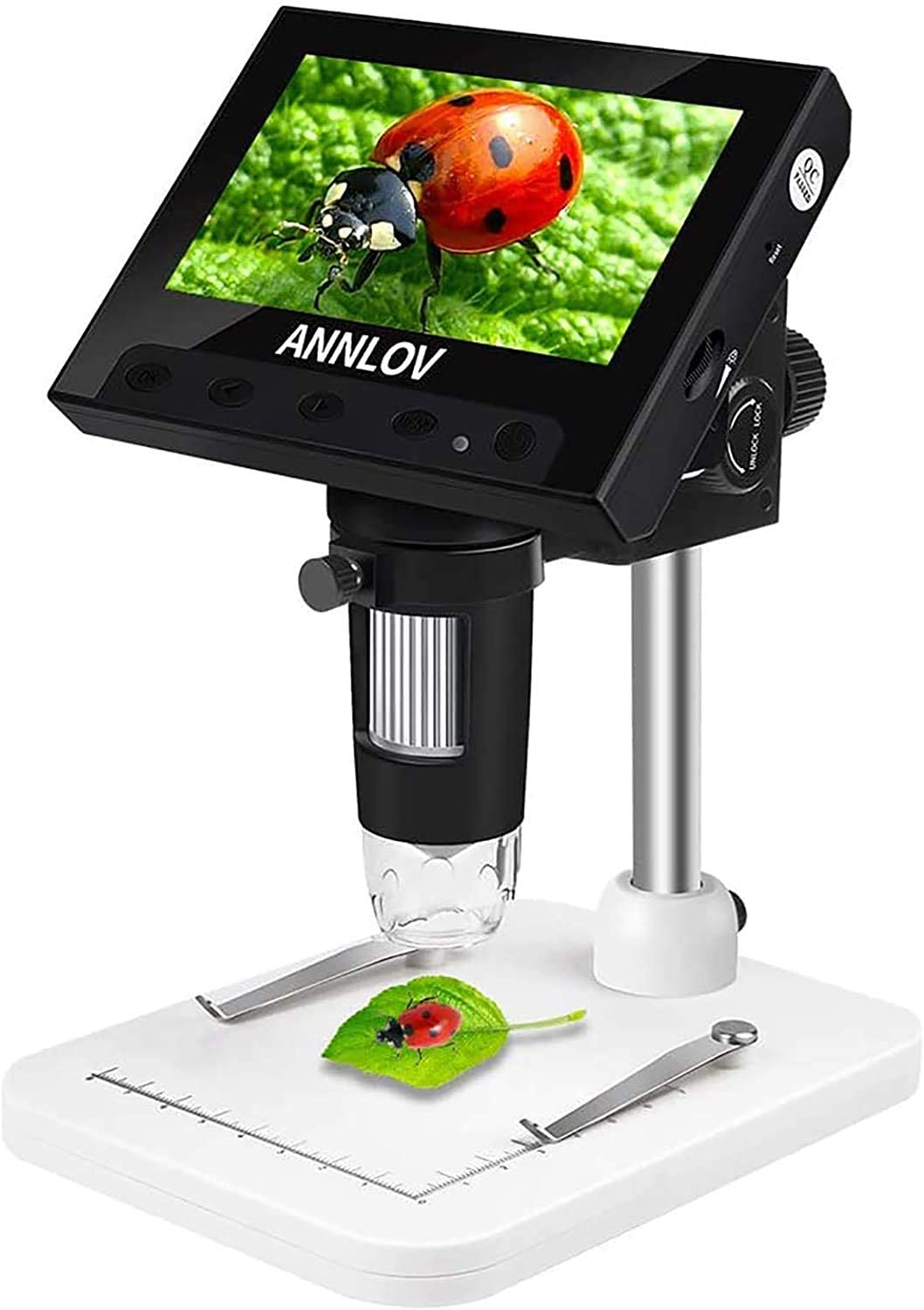 Review of ANNLOV 50X-1000X Magnification LCD Digital Microscope