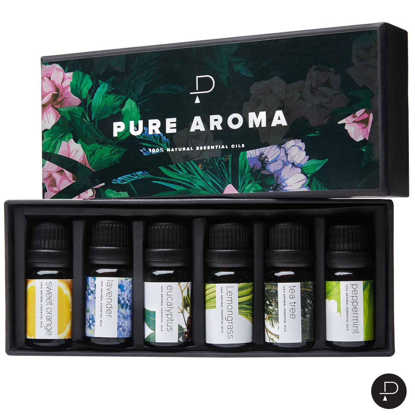 Review of Aromatherapy Oils Gift Set - 6 Pack 10ml Essential Oils by PURE AROMA