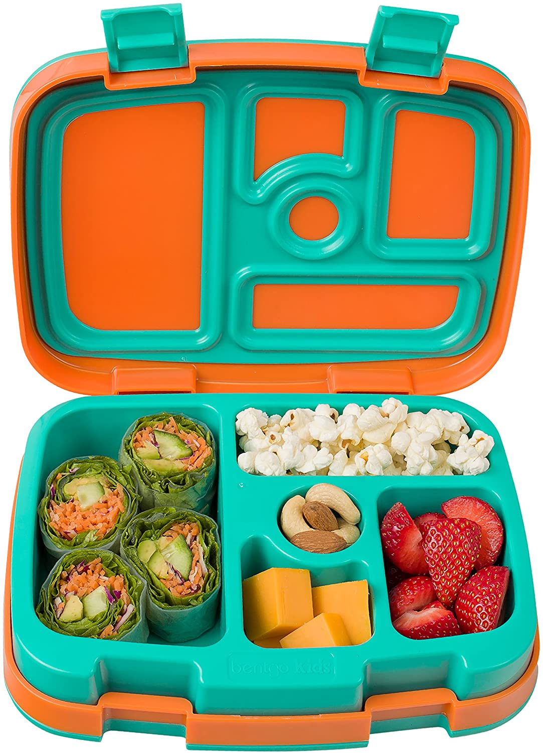 Review of Bentgo Kids Brights Leak-Proof, 5-Compartment Bento-Style Kids Lunch Box