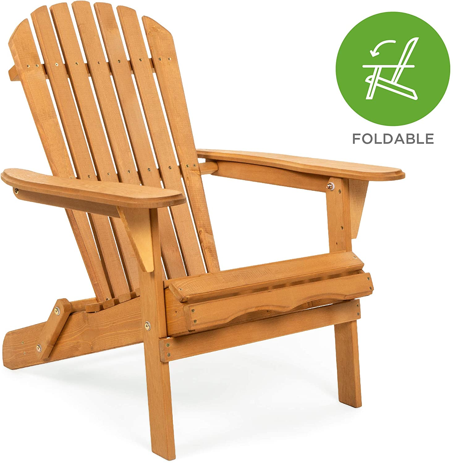 Review of Best Choice Products Folding Wood Adirondack Chair