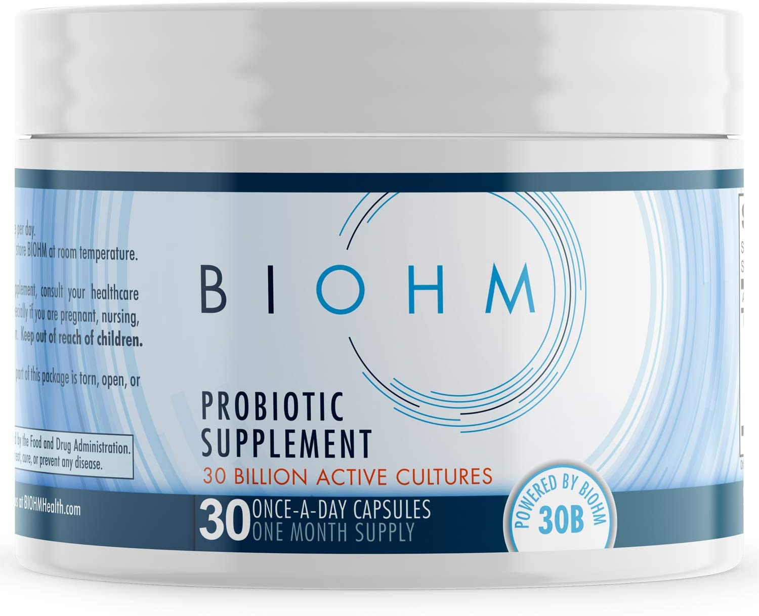 Review of BIOHM Dr. Formulated Organic Probiotic Supplement - 30 Billion CFU