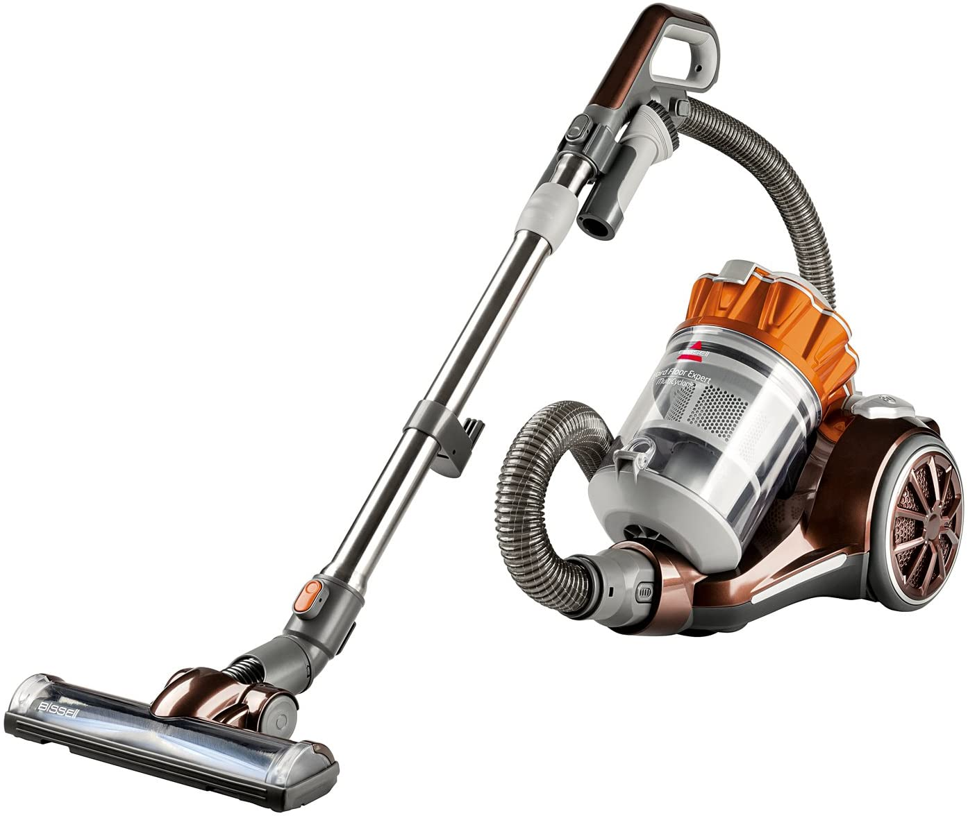 Review of Bissell Hard Floor Expert Multi-Cyclonic Bagless Canister Vacuum, 1547 - Corded