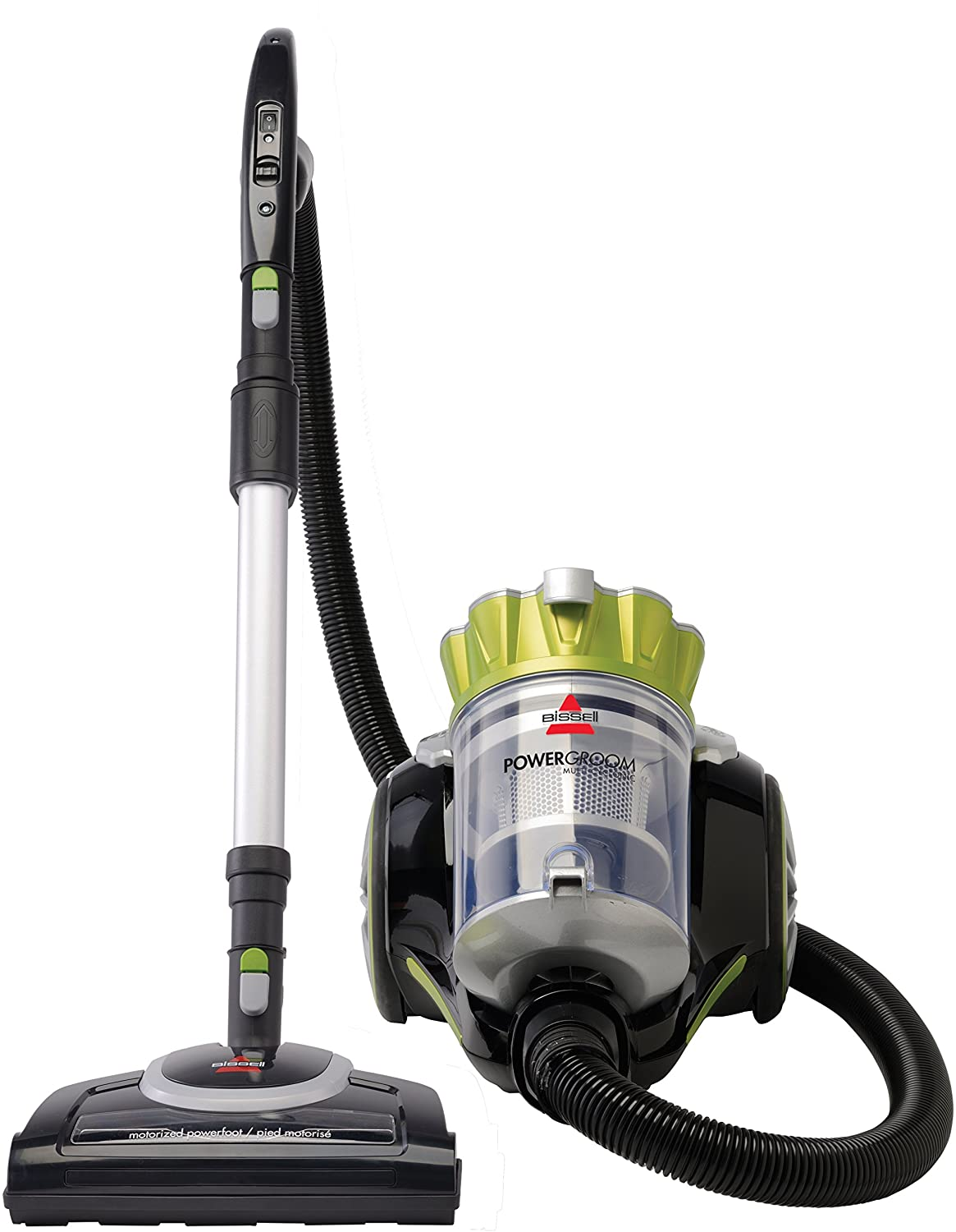 Review of Bissell Powergroom Multicyclonic Bagless Canister Vacuum - Corded - 1654