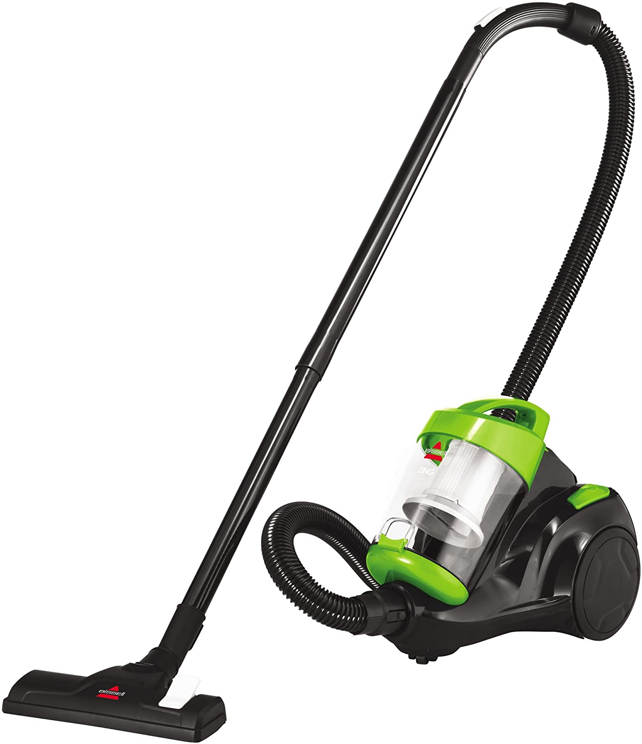 Review of Bissell Zing Canister, 2156A Vacuum, Green Bagless