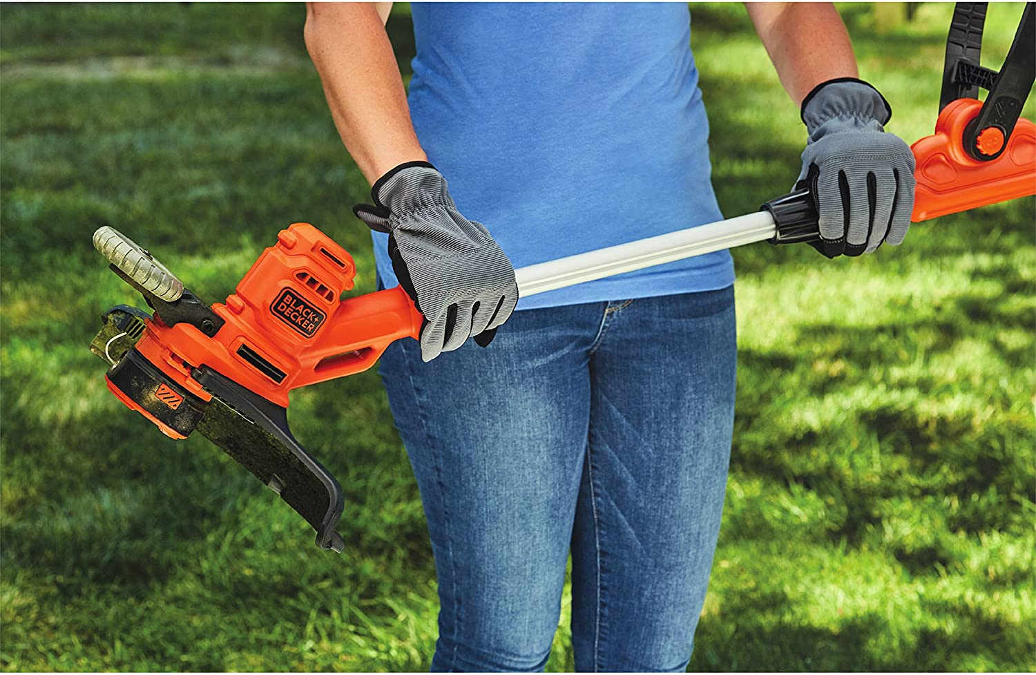 Review of BLACK+DECKER String Trimmer with Auto Feed, Electric, 6.5-Amp, 14-Inch (BESTA510)