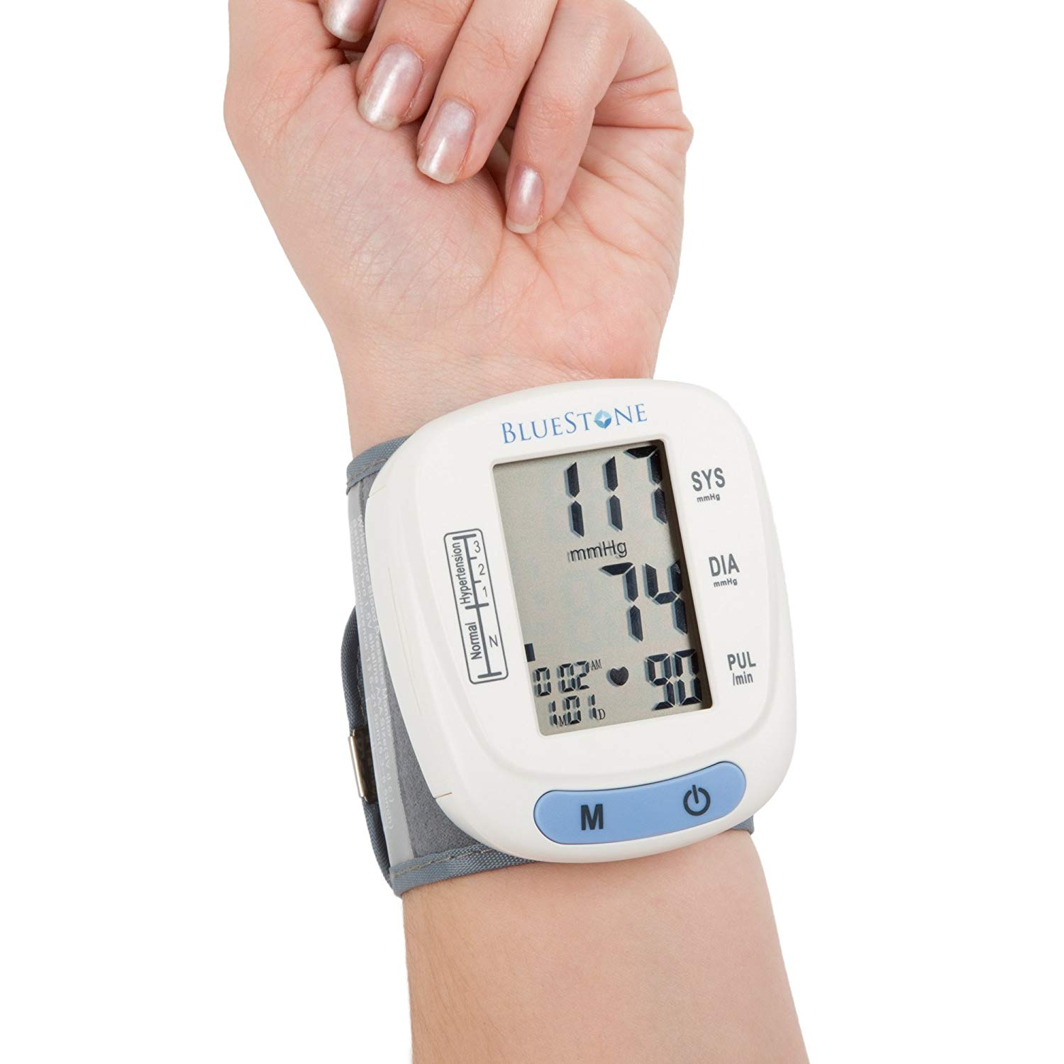 Review of Bluestone Automatic Wrist Blood Pressure Monitor with Digital LCD Display Screen